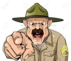 29612795-An-illustration-of-a-cartoon-angry-boot-camp-drill-sergeant-character-Stock-Vector